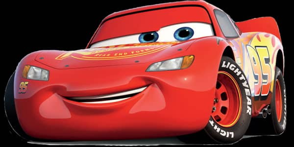 Car is Lightning McQueen